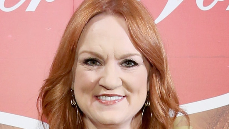 Ree Drummond with wavy hair