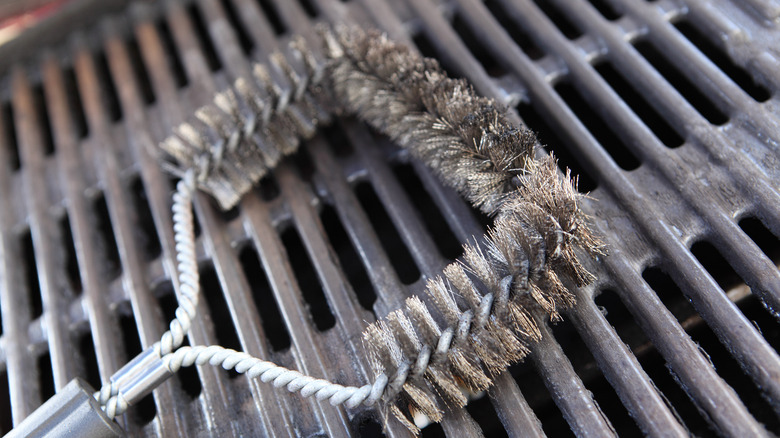 wire grill brush