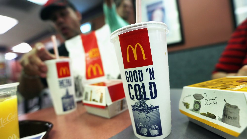 The Real Reason All McDonald's Soft Drinks Are Only $1