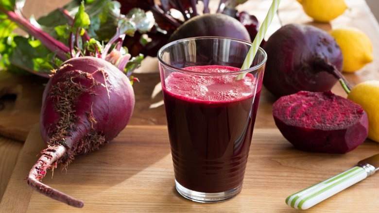 Beets and beet juice