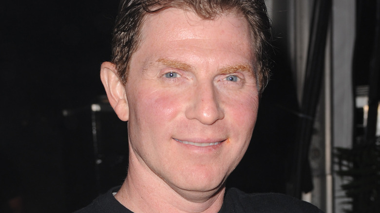 Chef Bobby Flay smiling