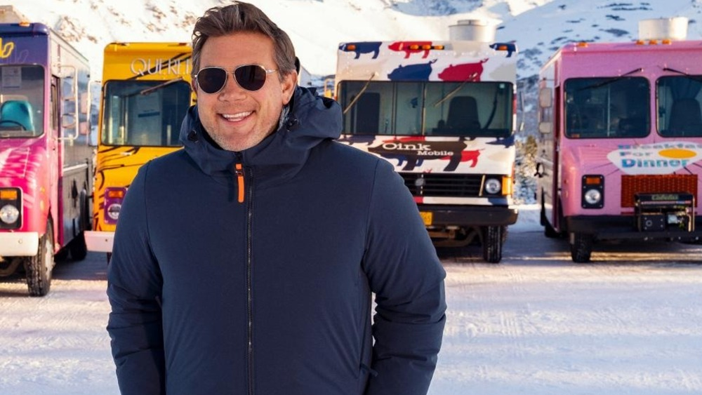 Tyler Florence in sunglasses