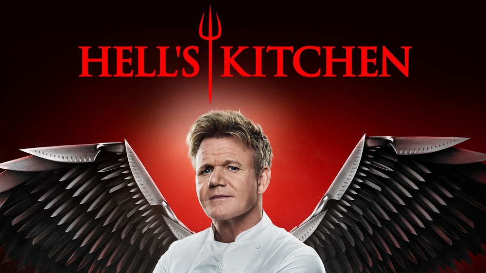 Gordon Ramsay hosts Hell's Kitchen ad