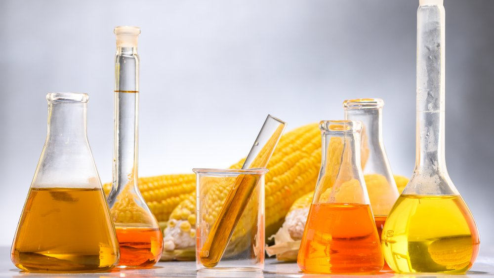 high fructose corn syrup and corn