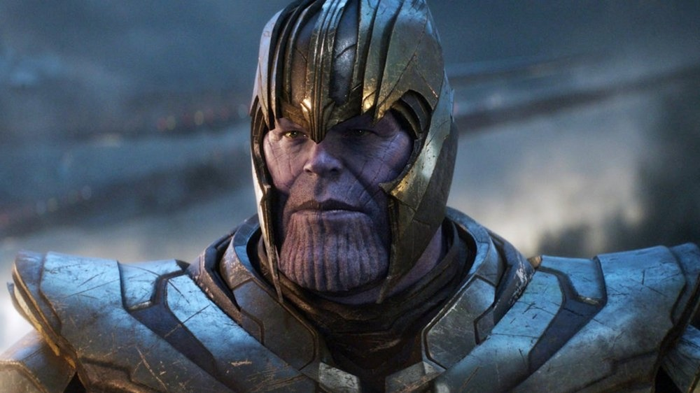 Thanos from Marvel's End Game