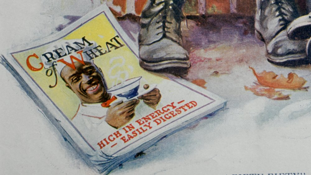 Detail of 1920s Cream of Wheat ad