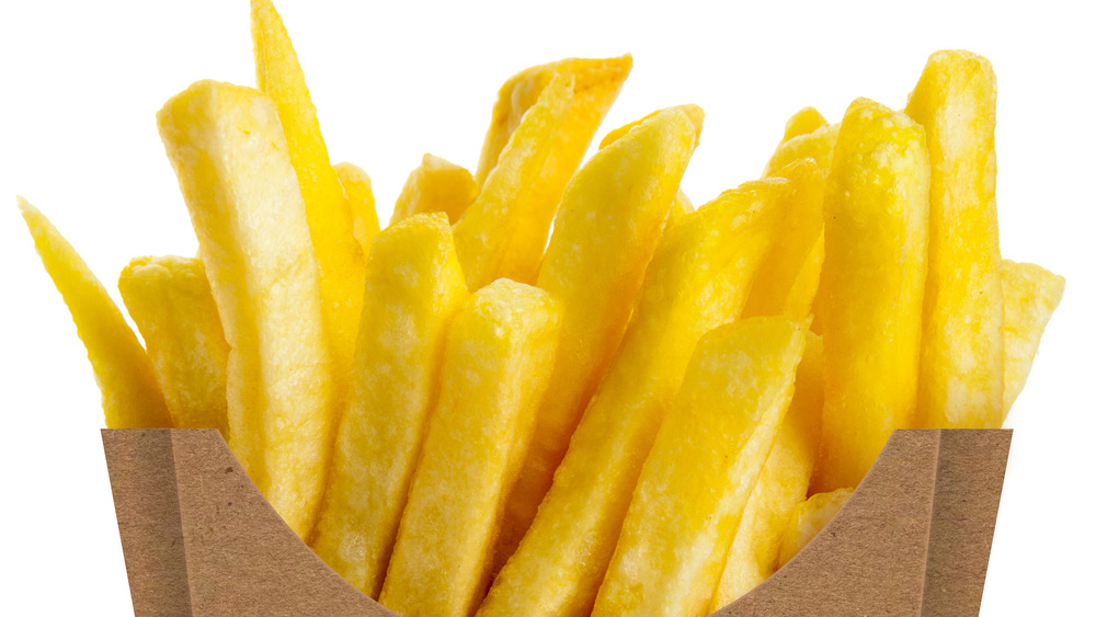 French fries in a carton