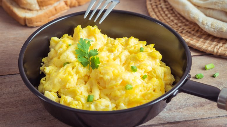 The Secret Ingredient You Should Be Adding To Your Scrambled Eggs