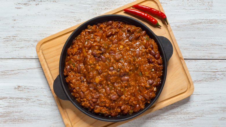 The Secret Ingredient You Should Be Using In Your Chili