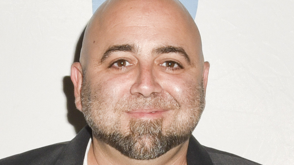 Duff Goldman in a suit jacket