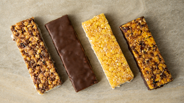 various protein bars
