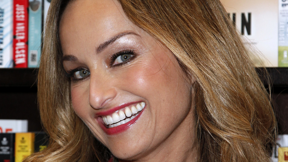 Giada De Laurentiis smiling big