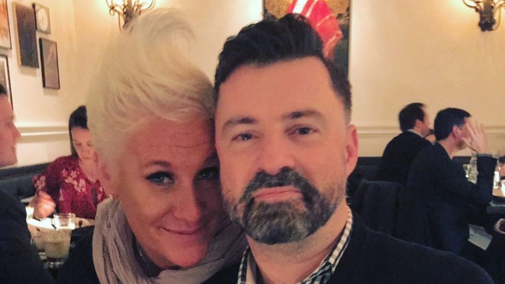 Anne Burrell and Stuart Claxton