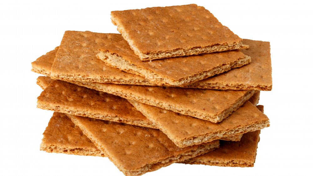 A generic photo of graham crackers