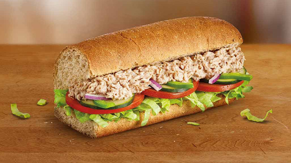 The Truth About Subway's Tuna Sandwiches