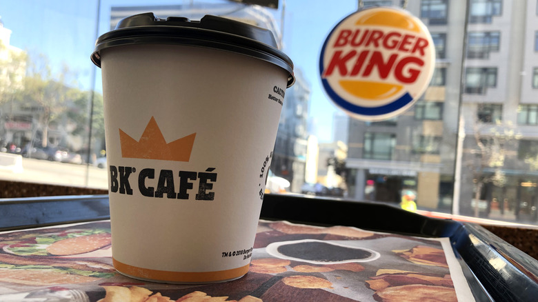 burger king coffee