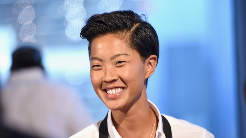 Chef Kristen Kish smiling