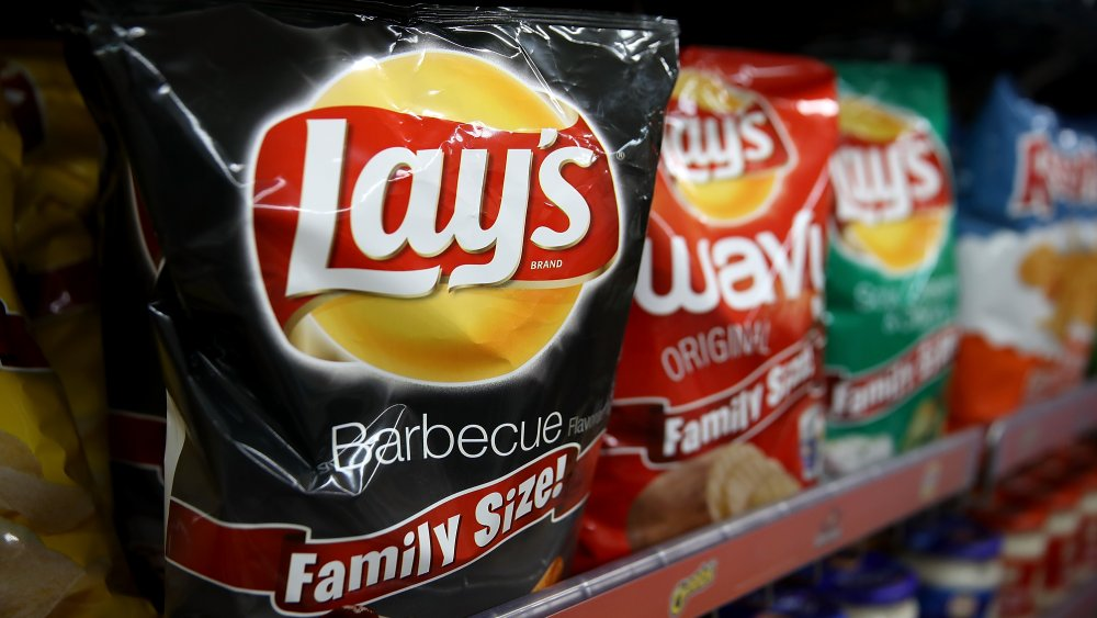 A generic photo of Lay's crisps