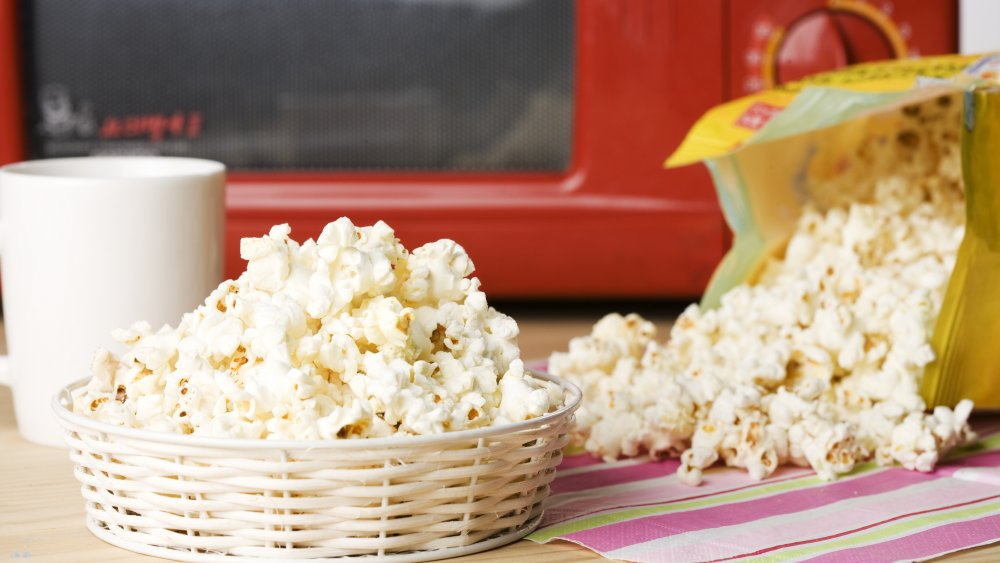 The Untold Truth Of Microwave Popcorn