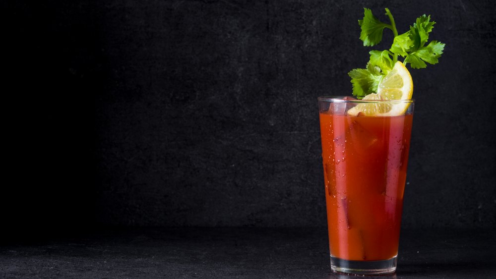 A classic Bloody Mary