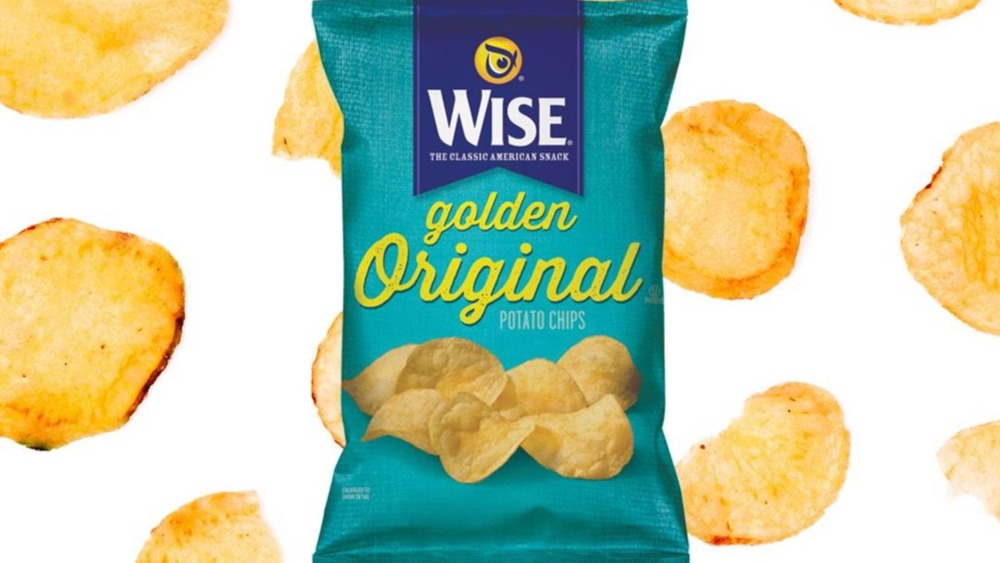 Bag of Wise Potato Chips