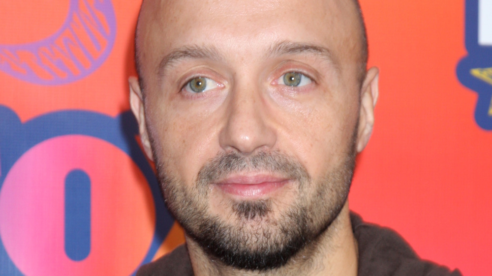 Joe Bastianich on red carpet