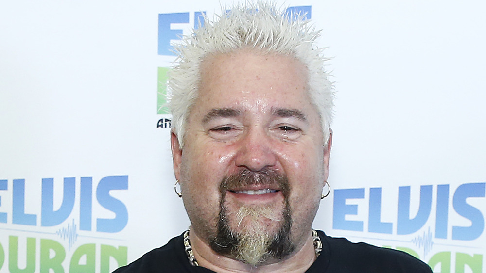 A close-up picture of chef Guy Fieri