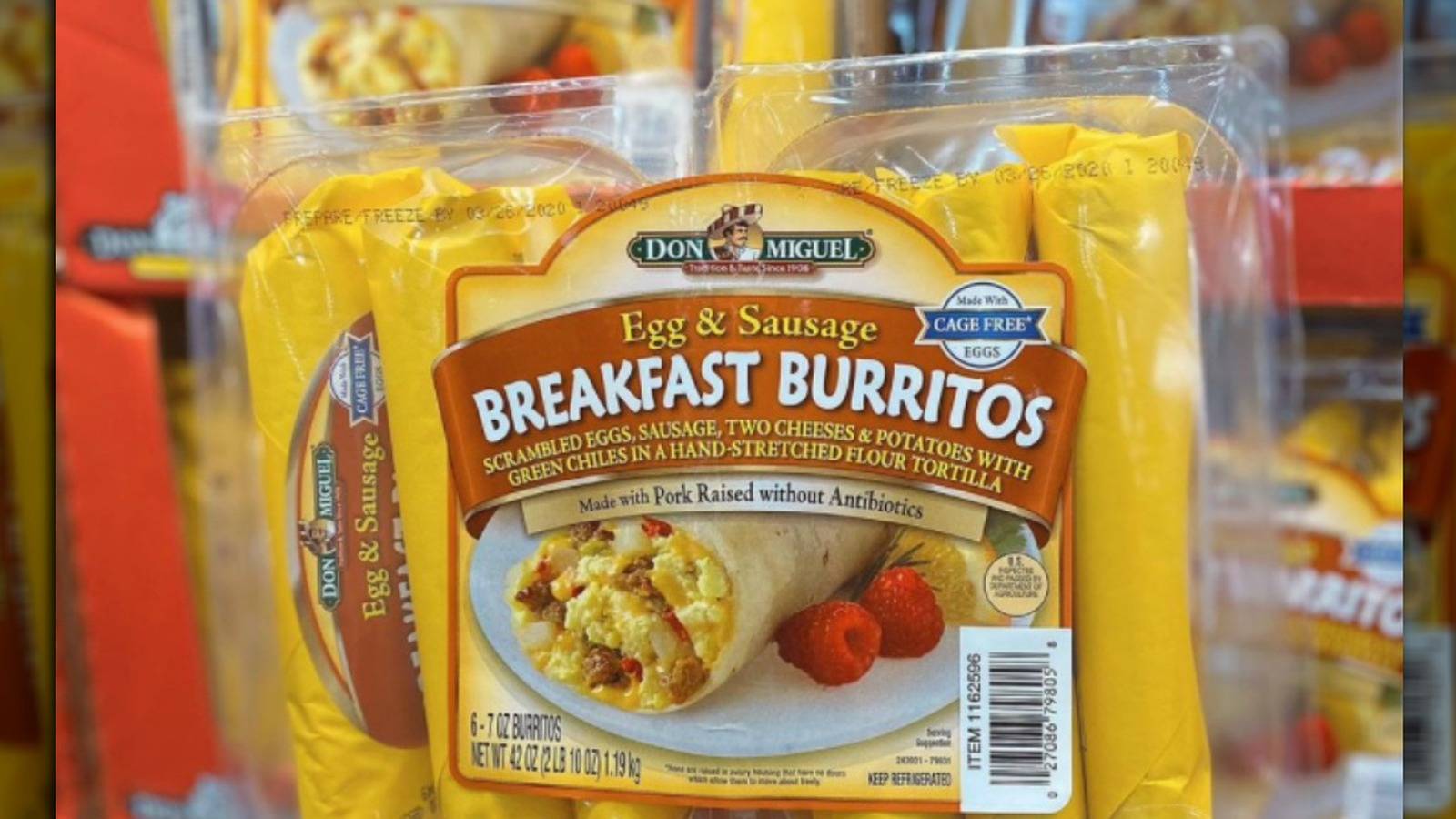 These Egg And Sausage Breakfast Burritos Have Costco Shoppers Divided