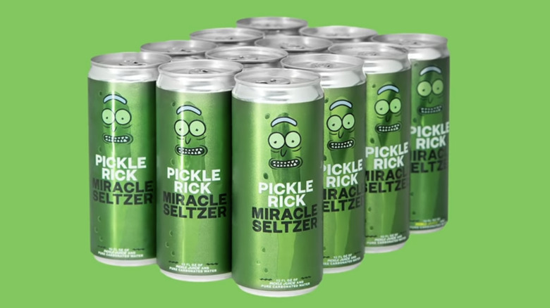 12-pack of Pickle Rick Miracle Seltzer