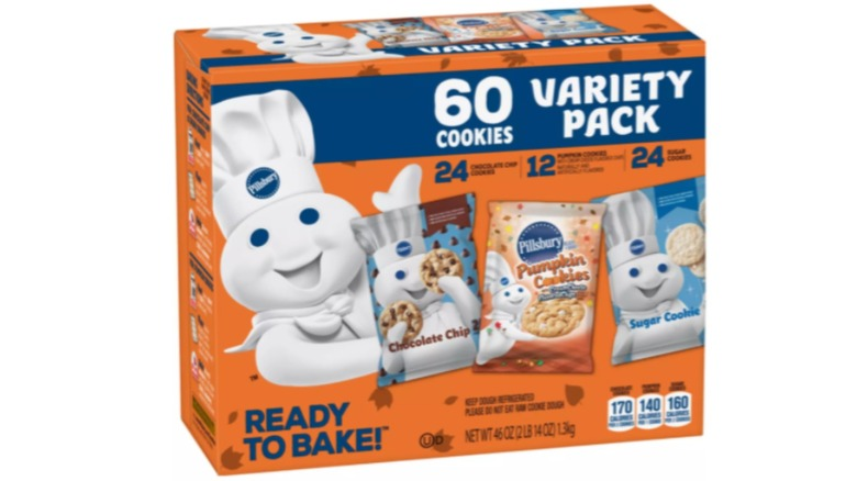 Pillsbury Ready-To-Bake Fall Variety Cookie Pack