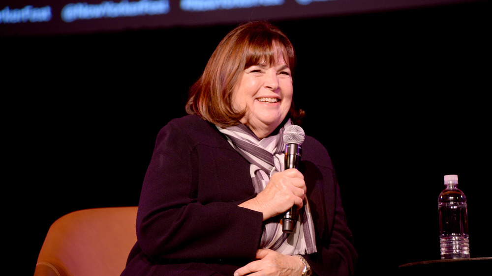 Ina Garten laughing during interview