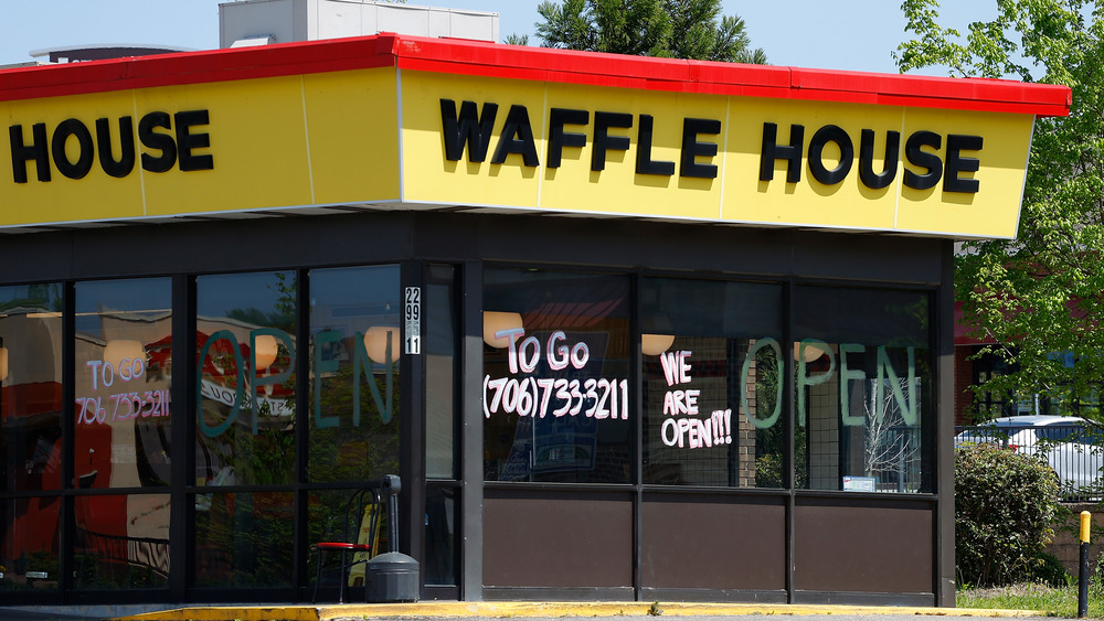 Waffle House restaurant storefront during the daytime