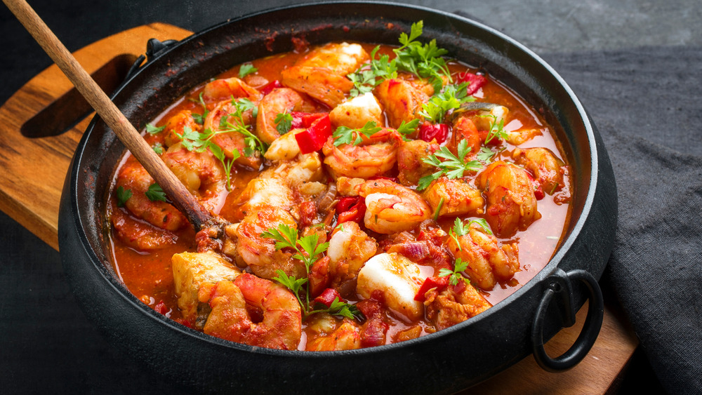 Traditional fish stew