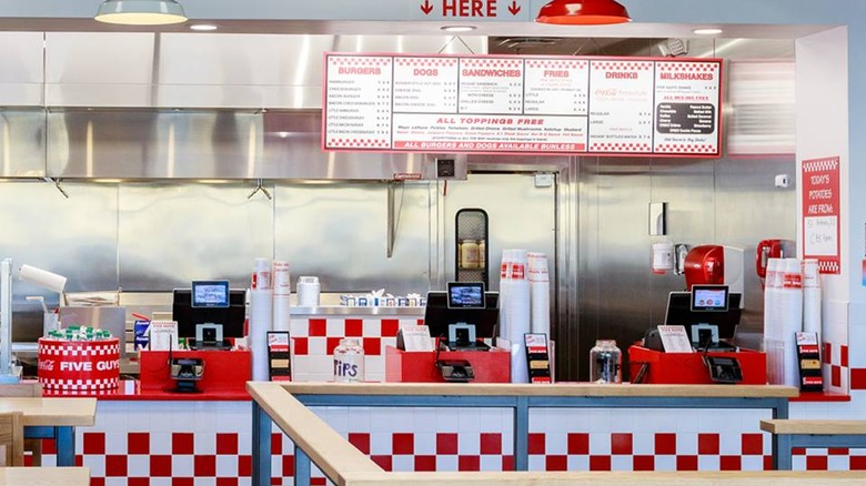 This is why Five Guys' burgers are so delicious