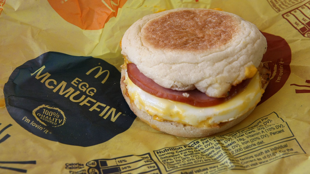 why McDonald's breakfast sandwiches are so delicious