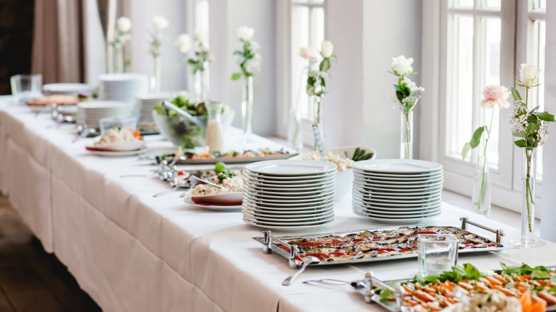 Ways Your Caterer Is Ripping You Off At Your Wedding