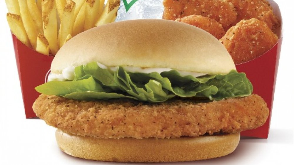 Wendy's 4 for $4 Spicy Crispy Chicken Sandwich Meal Deal