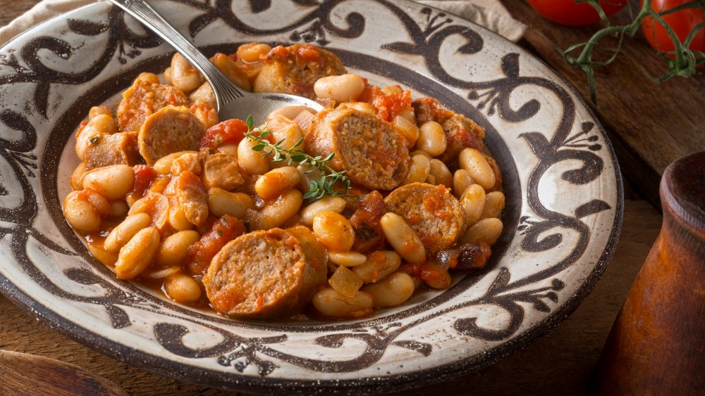 Cassoulet in a bowl