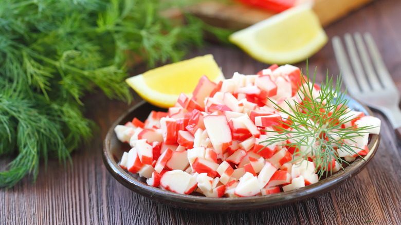 What Is Imitation Crab Meat Actually Made Of