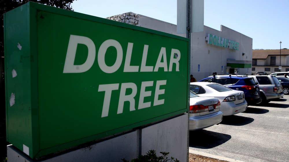 Dollar store sign