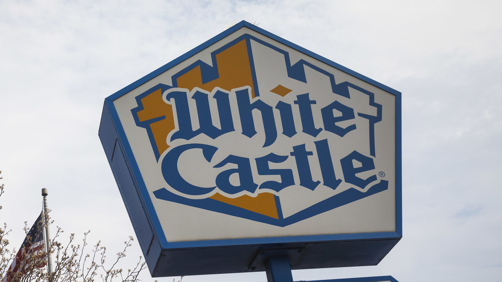 White Castle sign outdoors