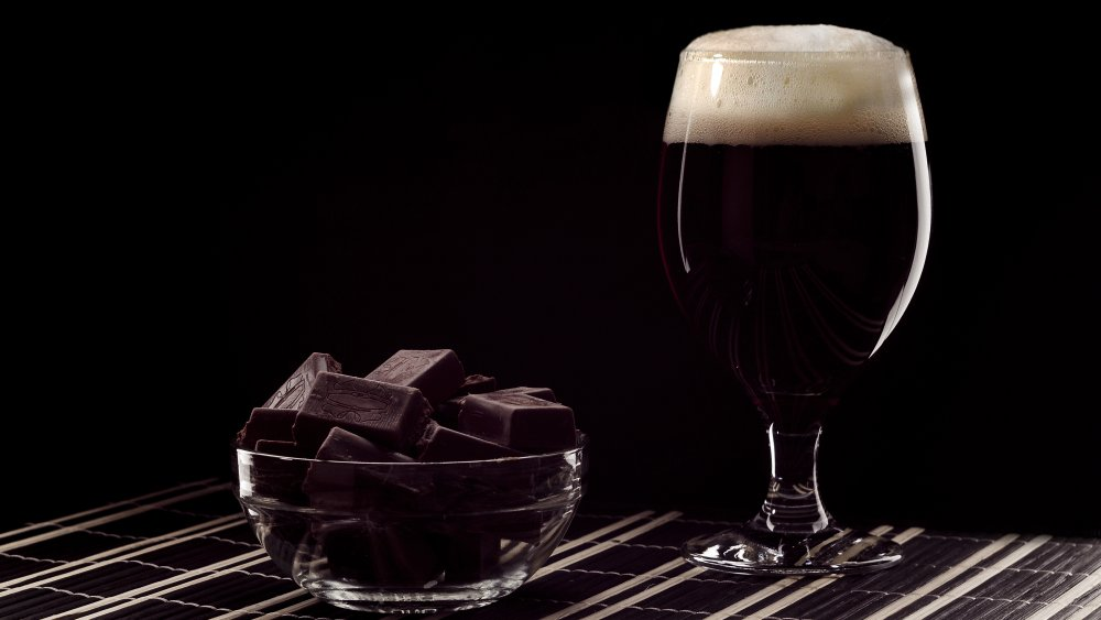 Chocolate and dark beer