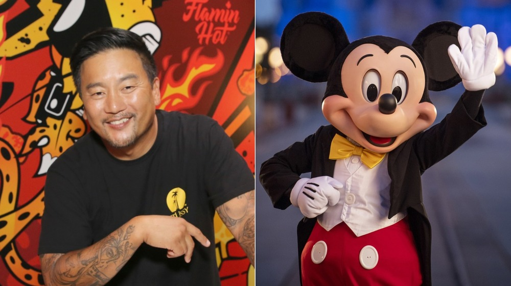 Roy Choi / Mickey Mouse character