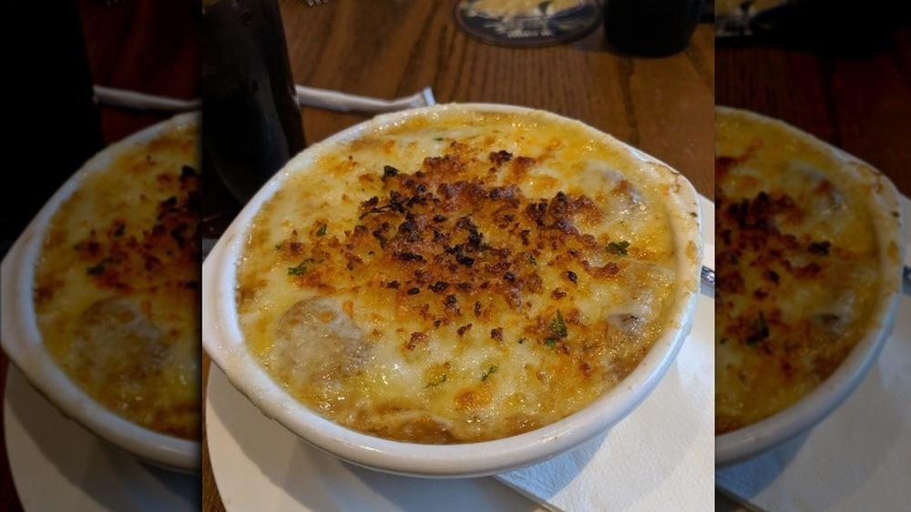 LongHorn Steakhouse French onion soup