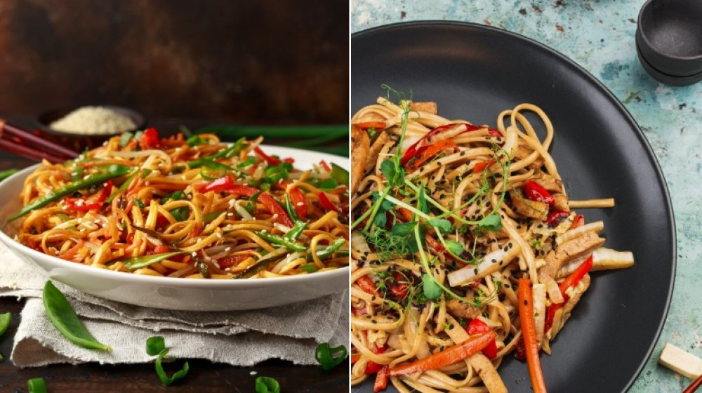 What's The Difference Between Chow Mein And Lo Mein?