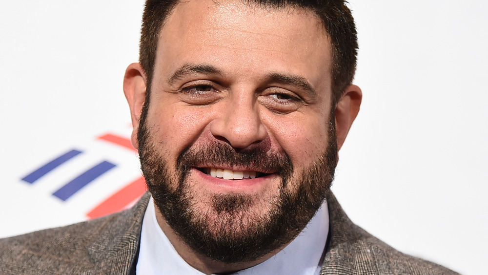 Adam Richman smiling