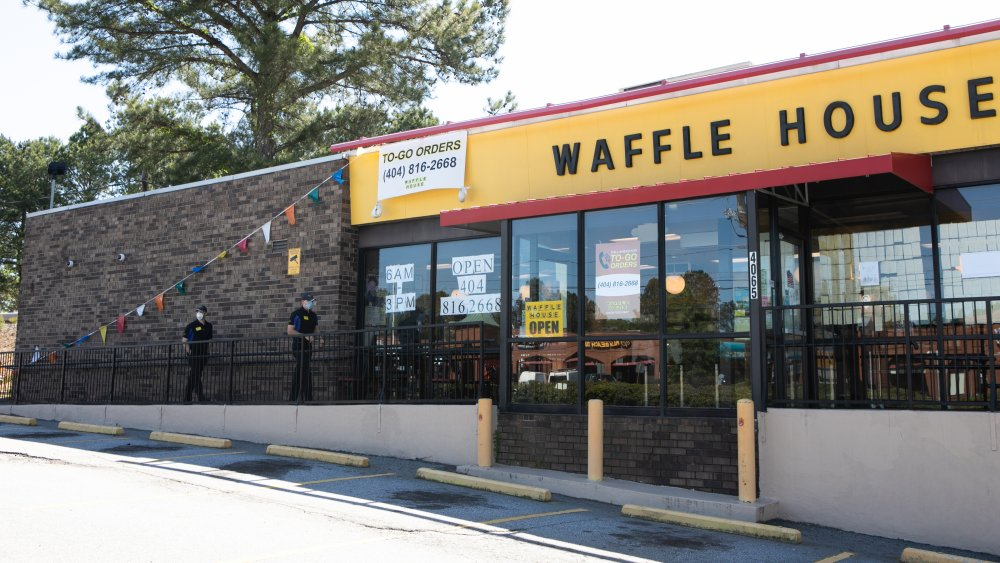 Waffle House branch in Georgia