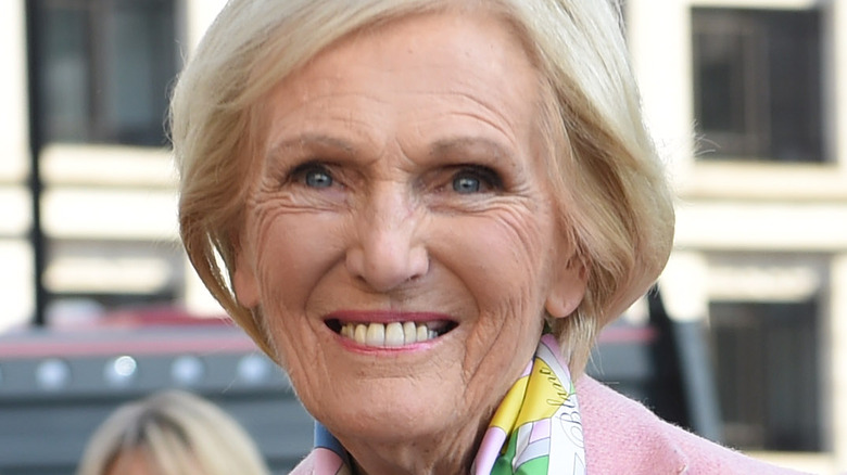 Mary Berry attending London event