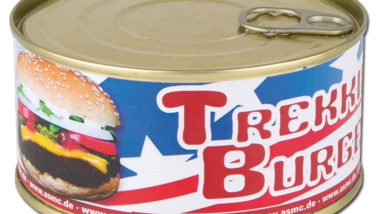 You should never eat canned cheeseburger. Here's why