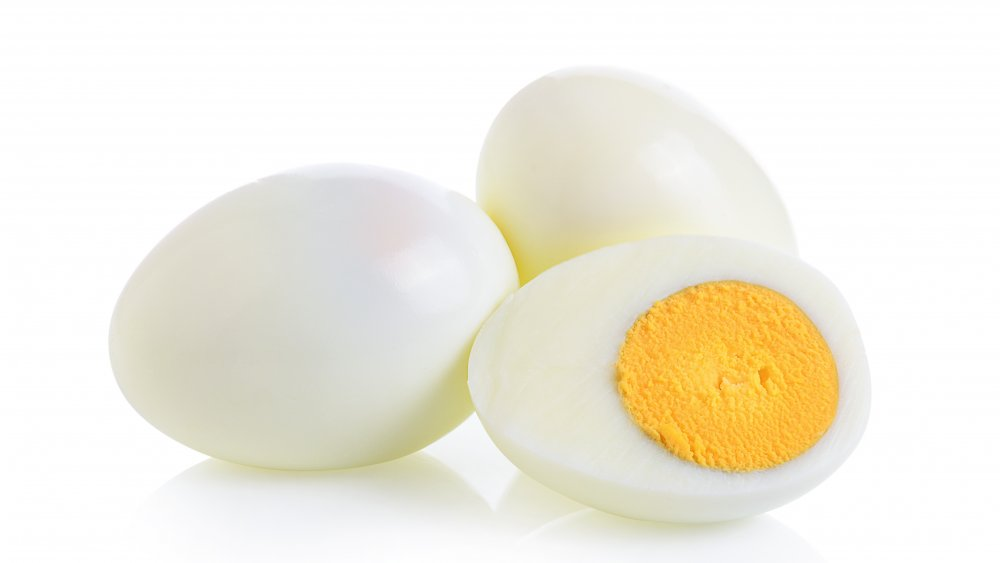 Why you should never microwave whole hard-boiled eggs